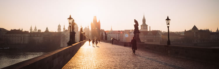 Посетите центра Праги