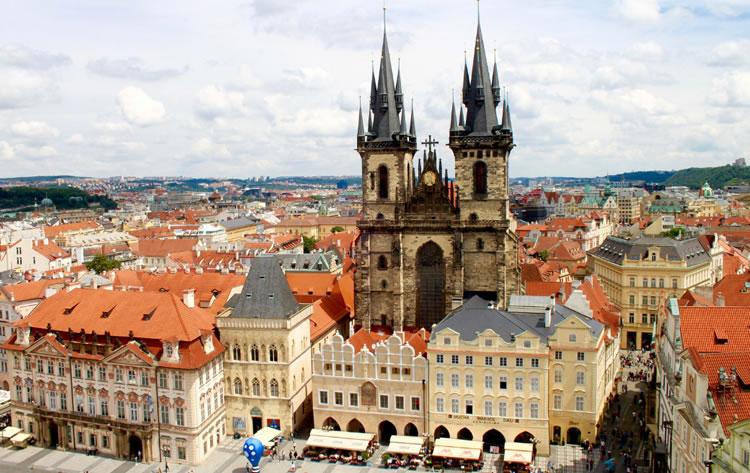 Экскурсии по центру Праги